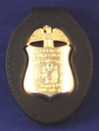 Badge holder clip on FBI