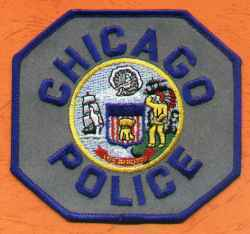 Ecusson Chicago Police