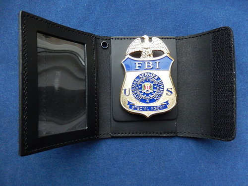 Badge holder  FBI IA