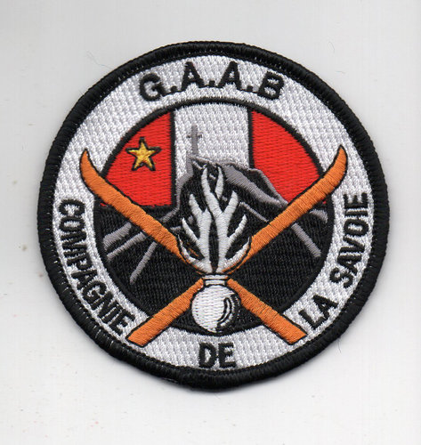 "Patch  Collection Gendarmerie ""La Reunion"""