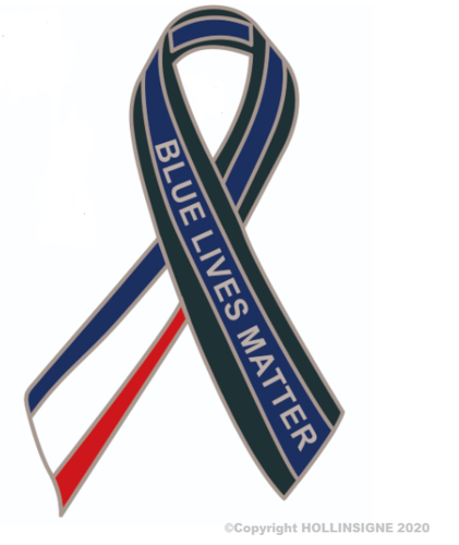 "Pin's ""Blue Lives Matter France"""
